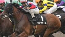 本校出身の川又賢治騎手がG1レース「エリザベス女王杯」に「ヴァフラーム号」で出走!