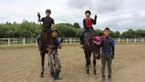 体験入学・1泊2日体験合宿にお越しいただきました!馬をよく知る機会になったかな?