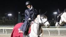 船橋競馬の誘導馬業務をお手伝い「第22回マリーンカップ」本校育成馬も参戦!