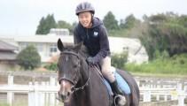 騎手の目線を体験してみよう! 馬の学校の学校見学!