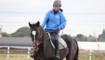 騎乗試験まであと1週間!1鞍を大切に!午後には体験入学が行われました!