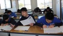 高校の単位にもなる漢字検定とマナー検定を受験しました