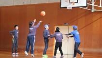接戦繰り広げつつ、みんなで仲良くbasketball!