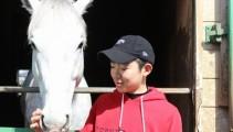 小林勝太くんがJRA競馬学校 騎手課程 入学へ。競馬学校入学直前に挨拶に来てくれました!