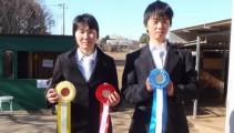 「スクーリングジャンプ」2日目 濱田くんが日本馬術連盟公認種目(110cm)で2位入賞!