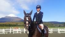 静岡県で開催された馬術競技会「フジホースショー」に2頭4名で出場してきました!