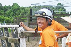 田中ジョッキー(写真)