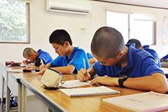 安心して勉強できるサポート体制(写真)