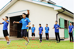 体力トレーニング(写真)